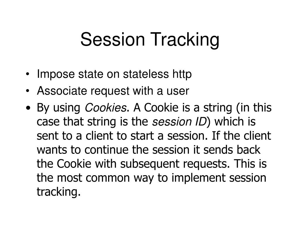 session tracking l.