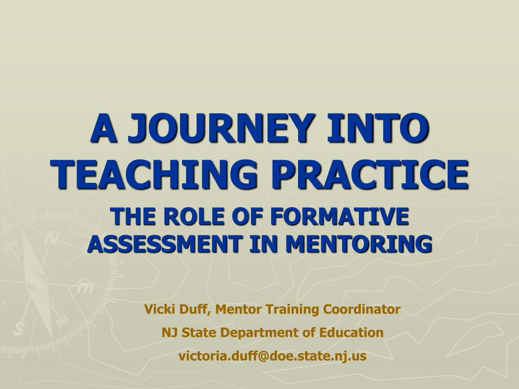 a journey into teaching practice l.