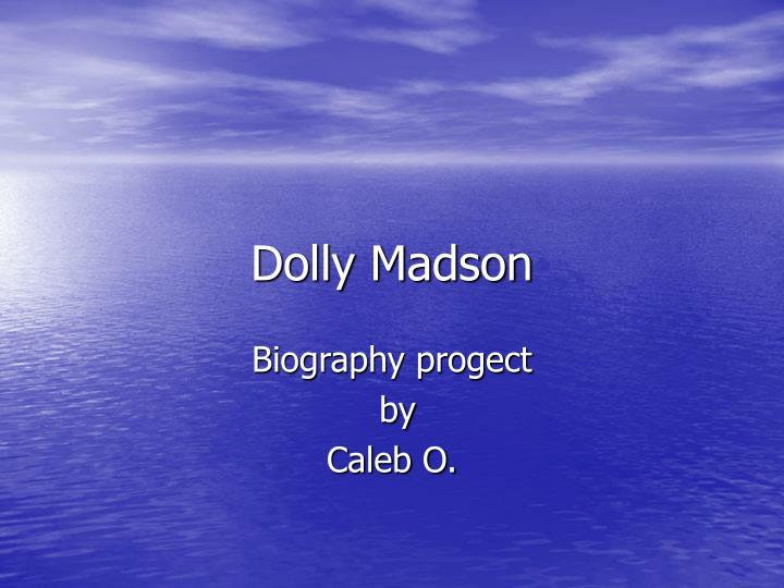 dolly madson n.