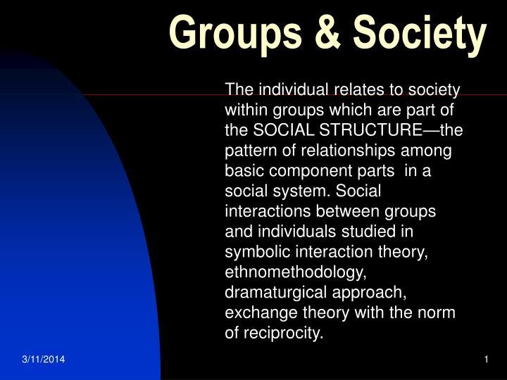 groups society n.