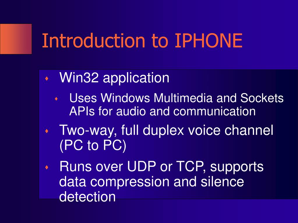 Introduction to IPHONE