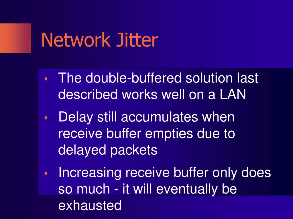 Network Jitter