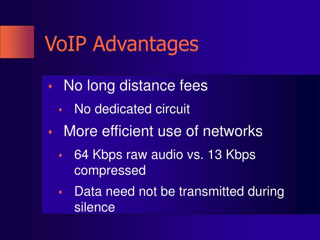 VoIP Advantages