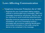 laws affecting communication4