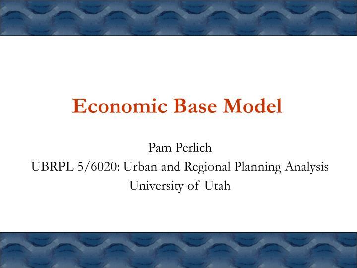 economic base model n.