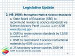 legislative update33