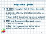 legislative update34