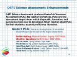 ospi science assessment enhancements