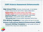ospi science assessment enhancements46