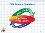wa science standards