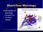 short fuse warnings5