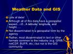 weather data and gis2