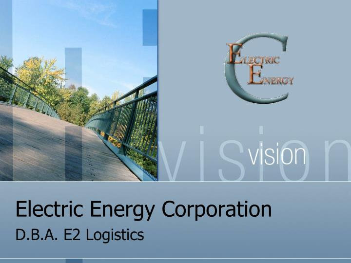 electric energy corporation n.