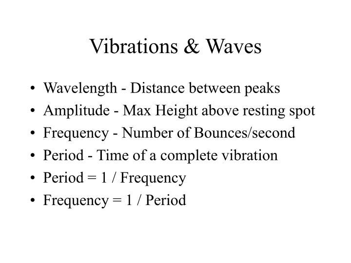 Vibrations waves3