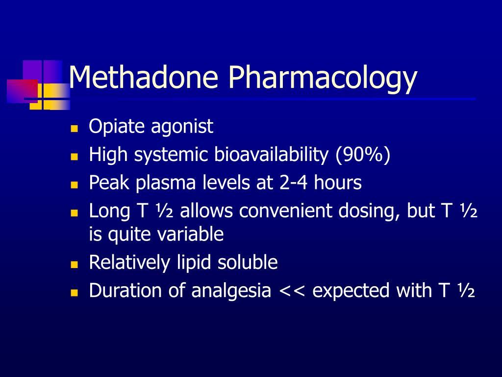 Methadone Pharmacology