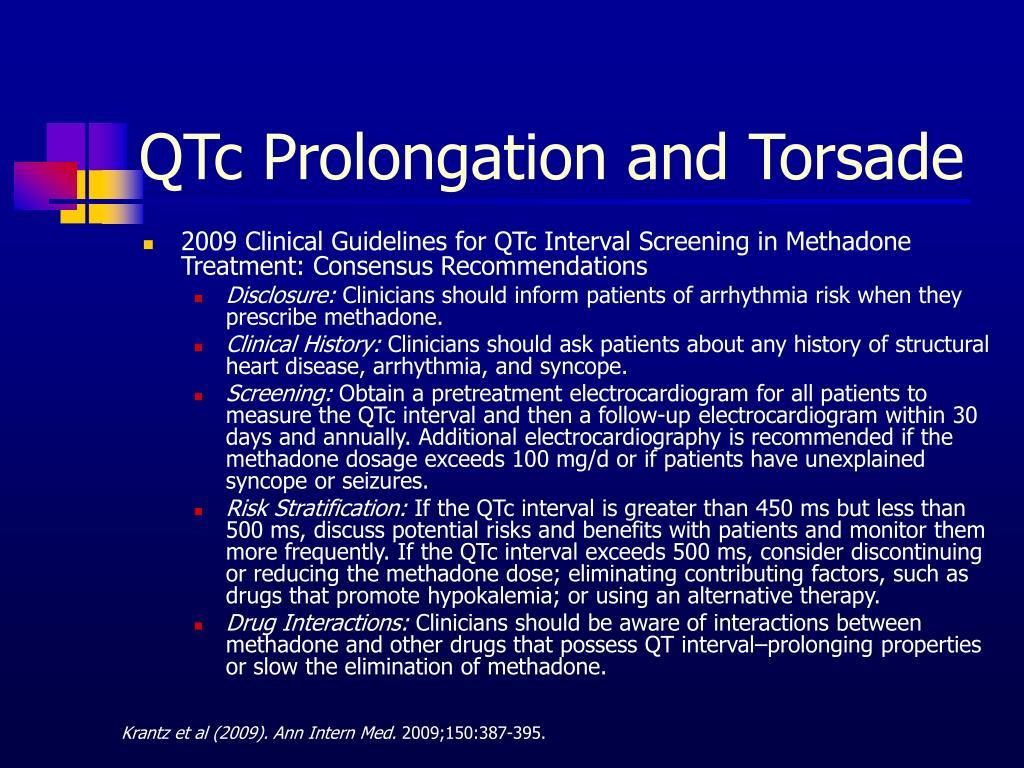 QTc Prolongation and Torsade