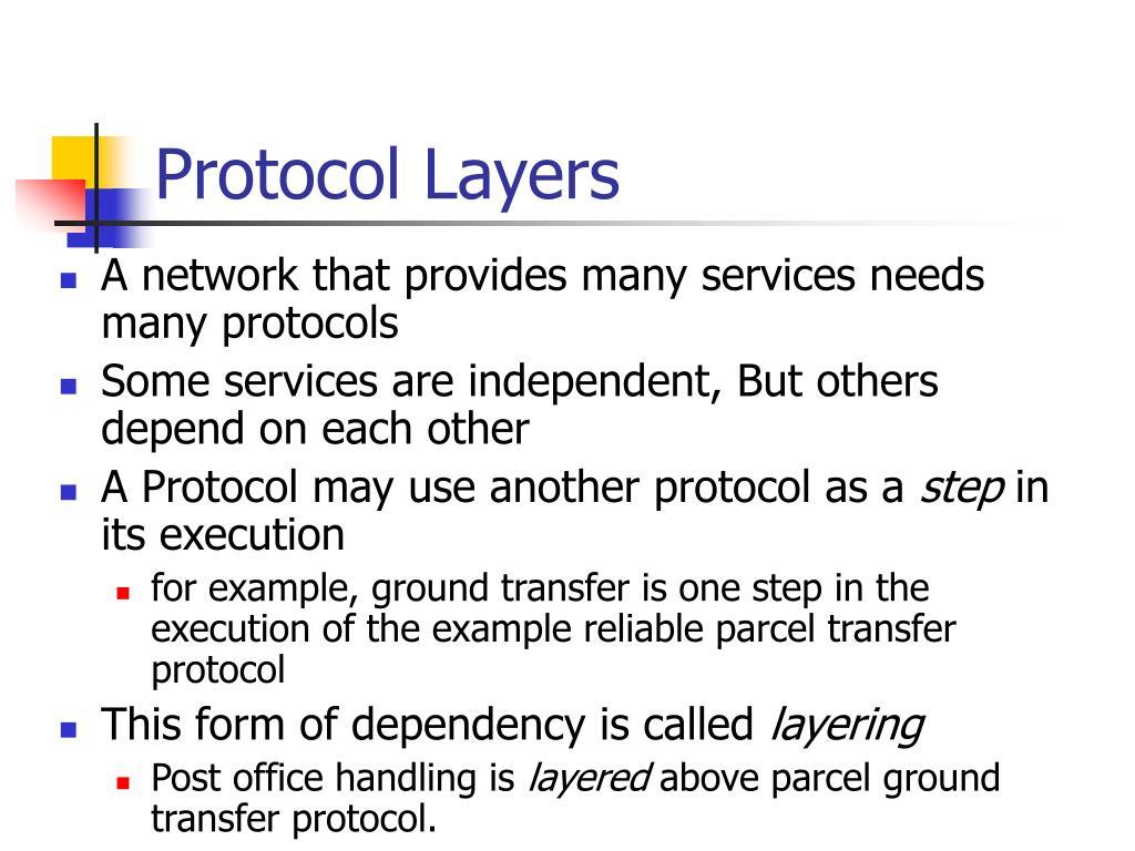 Protocol Layers