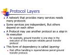 protocol layers33