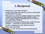 3 reciprocal