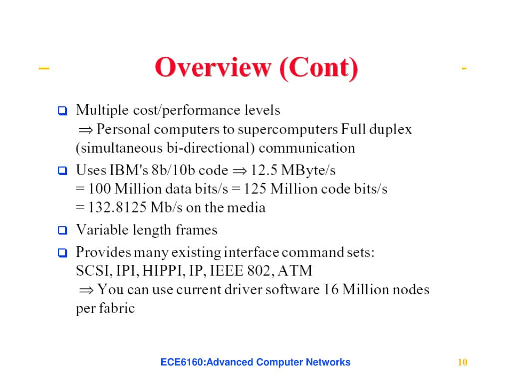 ECE6160:Advanced Computer Networks