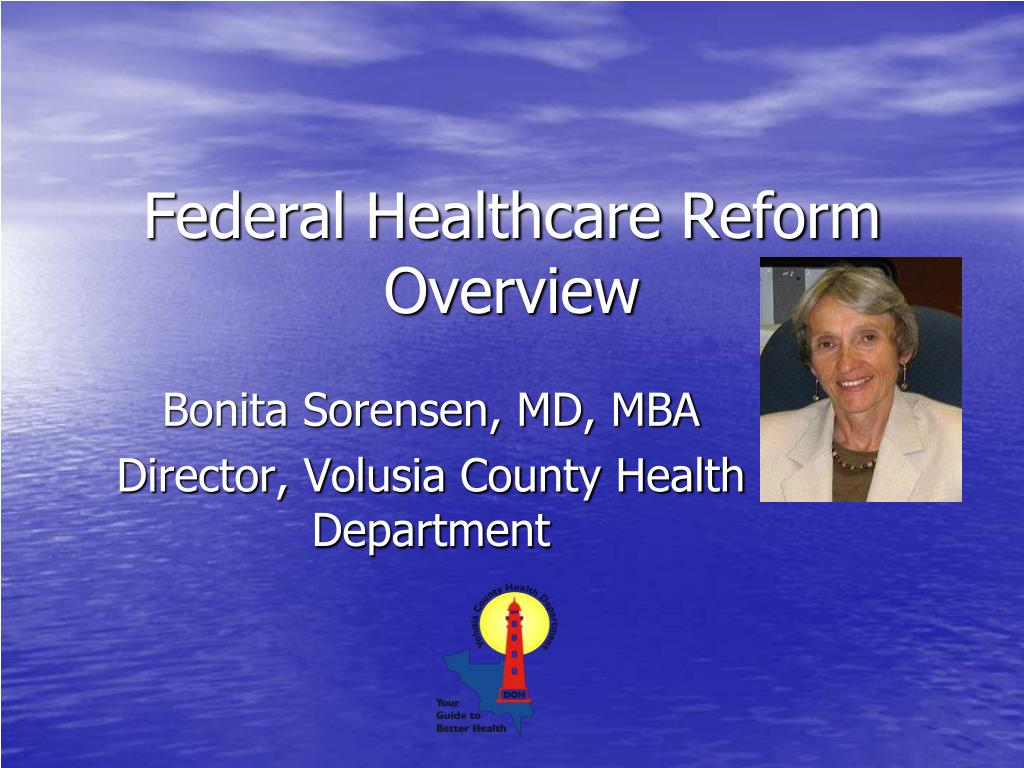 federal healthcare reform overview l.