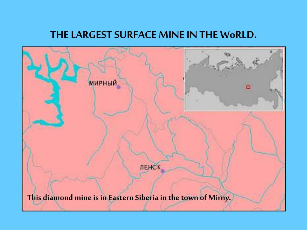 the largest surface mine in the world l.