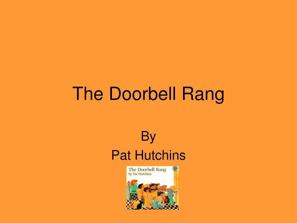 The Doorbell Rang Point Ppt Presentation