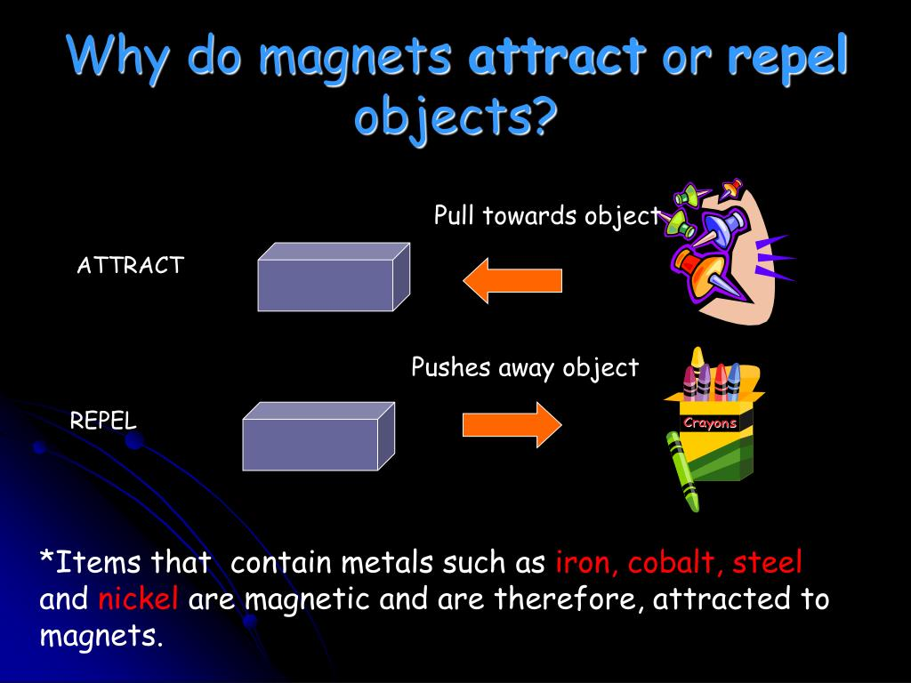 Why do magnets