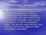 formal informal assessment19