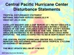 central pacific hurricane center disturbance statements1