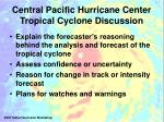 central pacific hurricane center tropical cyclone discussion