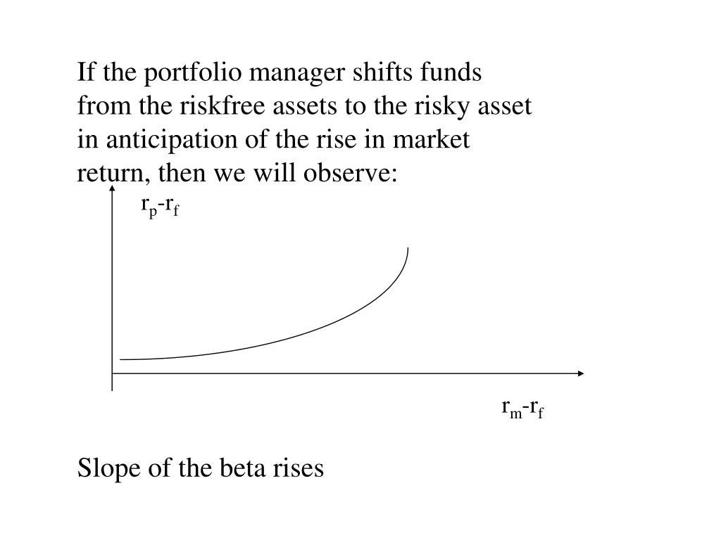 If the portfolio manager shifts funds