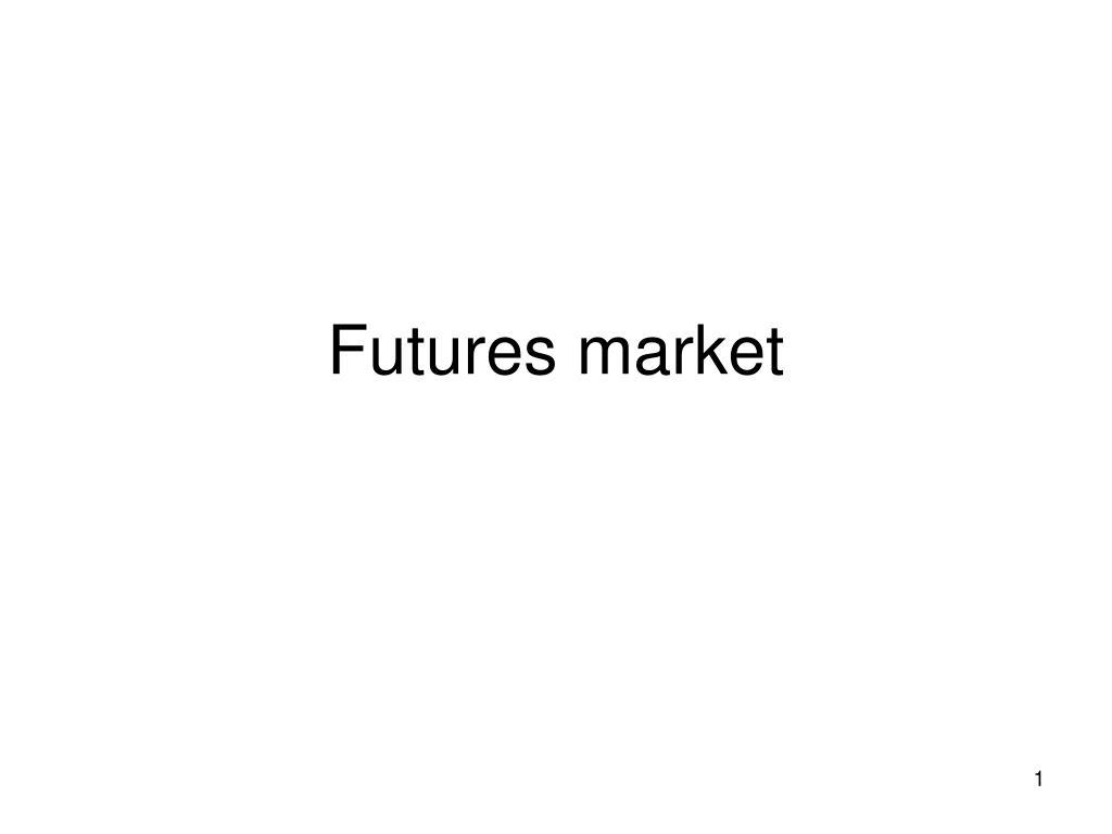 futures market l.