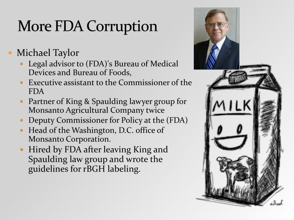 More FDA Corruption