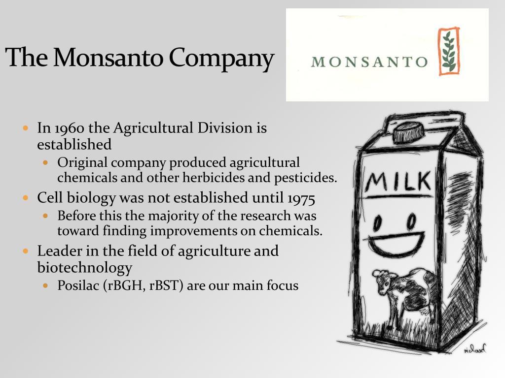 The Monsanto Company