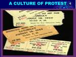 a culture of protest