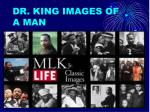 dr king images of a man