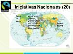 iniciativas nacionales 20