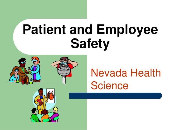 patient and employee safety n.