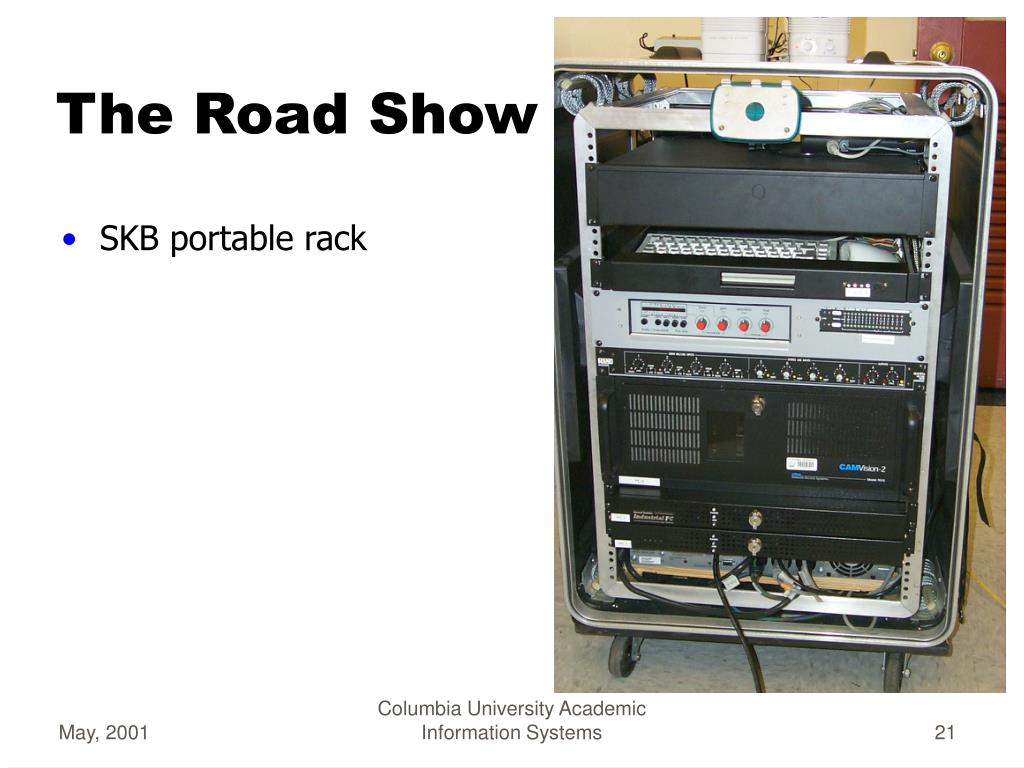 SKB portable rack