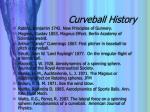 curveball history