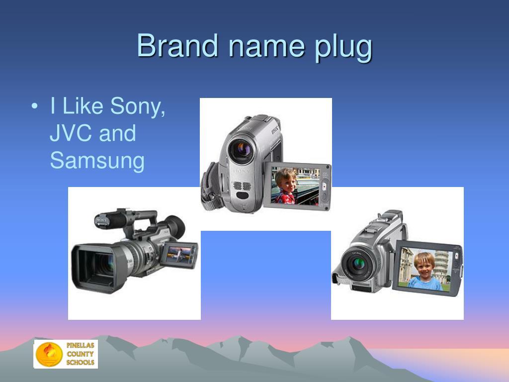 Brand name plug