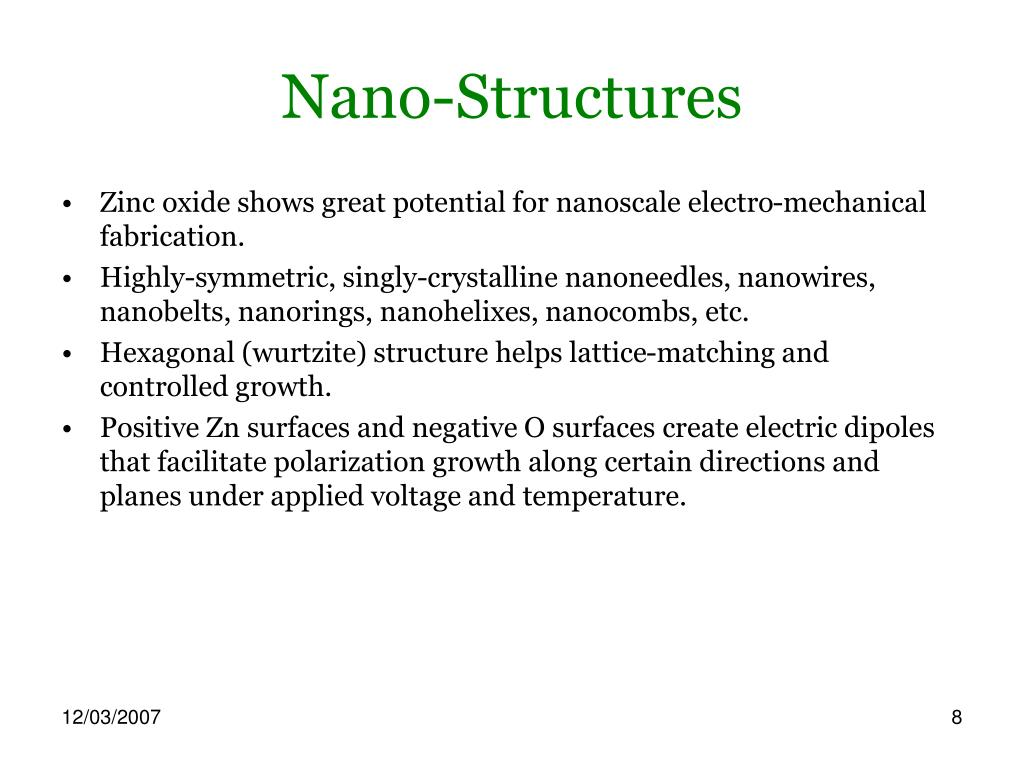 Nano-Structures