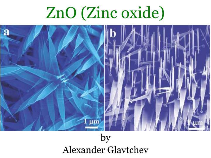 Zno zinc oxide