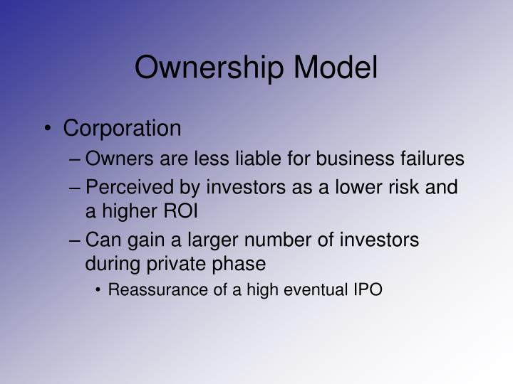 Ownership model