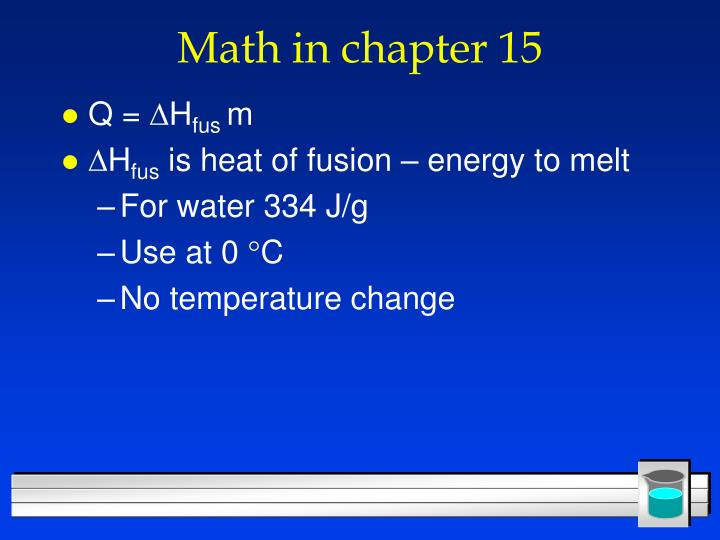 Math in chapter 15