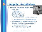 computer architecture1