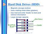 hard disk drives hdd