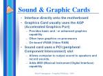 sound graphic cards