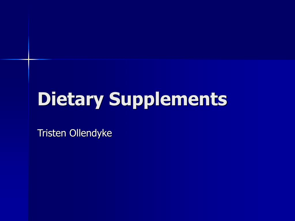 dietary supplements l.